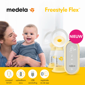 nieuwe borstkolf van Medela